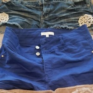Pants - High waste womans shorts